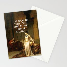 Cleopatra Killin' It Stationery Cards