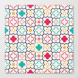 Cute Eastern Pattern Canvas Print