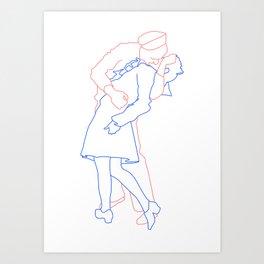 Passion of a Man & Woman Art Print