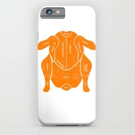 Funny Turkey Parts Fall Thanksgiving Costume Grilled Gobble iPhone Case