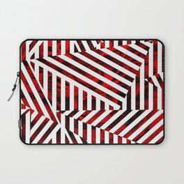 Striped Red Tiger Laptop Sleeve