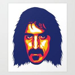 Zappa Art Print