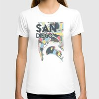 san diego T-shirts featuring San Diego by Studio Tesouro