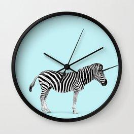 Unicorn Zebra Wall Clock