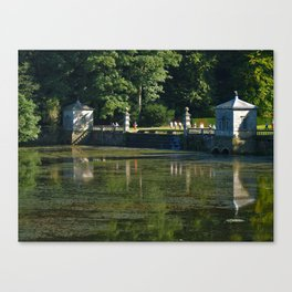 Studley Water Gardens Canvas Print