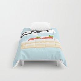 Strawberry Cake! Comforters