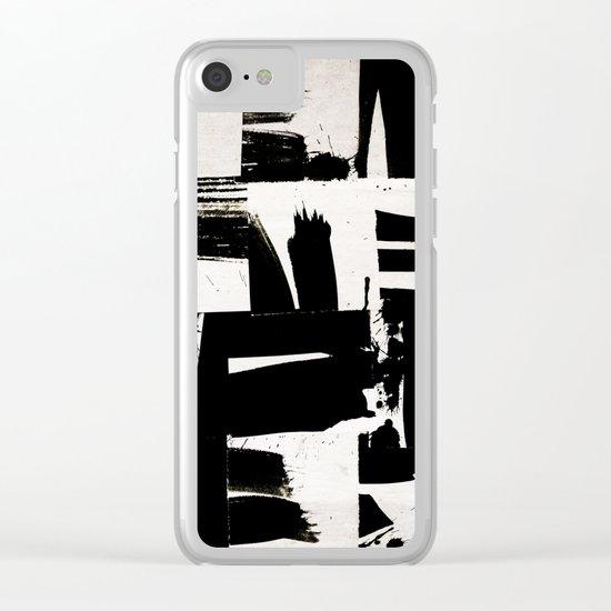 wabi sabi 16-02 Clear iPhone Case