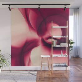 Splash of Wine Fractal Wall Mural