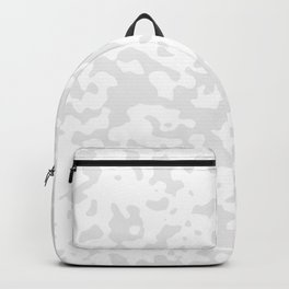 Spots - White and Pale Gray Backpack