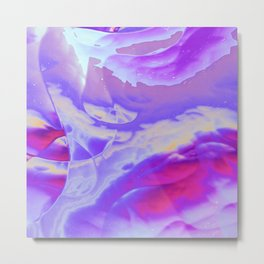 Air Blush Metal Print