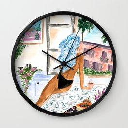 A Peaceful Morning Wall Clock