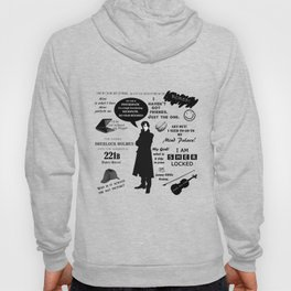 Sherlock Holmes Quotes Hoody