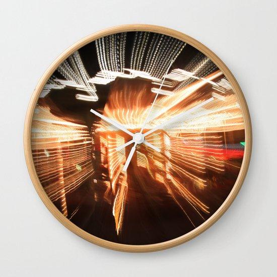 lion fish carousel  Wall Clock