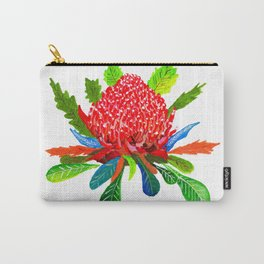 Waratah Carry-All Pouch