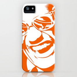 Ray Charles – Orange iPhone Case