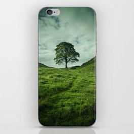 Sycamore Gap Hadrian's Wall iPhone Skin