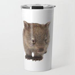 An adorable Australian wombat Travel Mug