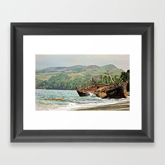 Traditional genius Framed Art Print
