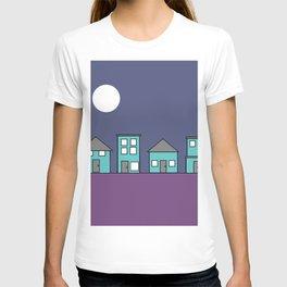 Dark Sky - Row of Houses T-shirt