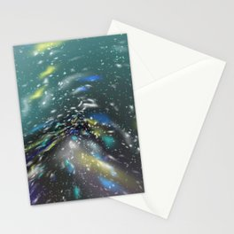 Deep Sea Space Stationery Cards
