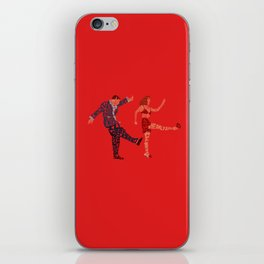 I'll never tell typography iPhone Skin