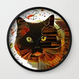 Miss Attitude Wall Clock