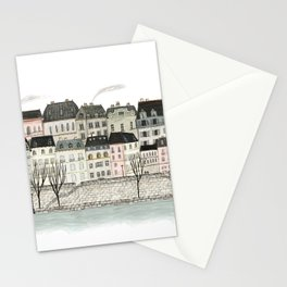 Paris for lunch Stationery Cards