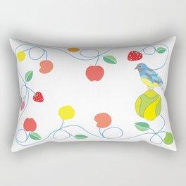 Kitchen trogon Rectangular Pillow