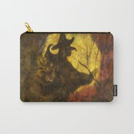 Witch on Moon Carry-All Pouch