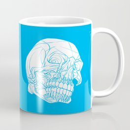 Skull Deconstructed Coffee Mug