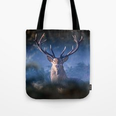 Red Deer Stag Tote Bag