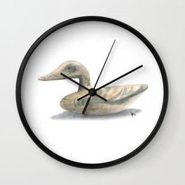 Decoy #2 Wall Clock
