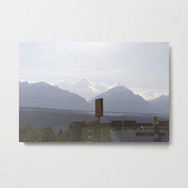 Mountains at sunset along the Coquihalla Metal Print