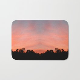 Fire in the Sky Bath Mat