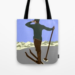 Each mountain peak you ascend Tote Bag