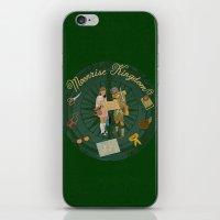 moonrise kingdom iPhone & iPod Skins featuring Moonrise Kingdom by KelseyMicaela