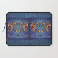 Denim Designs Jacobean Border Laptop Sleeve