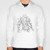 dragon age Hoodies featuring (Dragon Age 2) Hawke by  Steve Wade ( Swade)