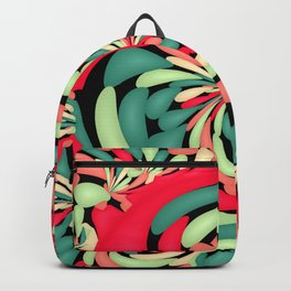 Colorful rubber balloons Backpack