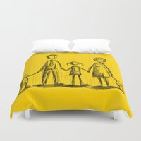 family Duvet Covers featuring Family by Moisés Ferreira