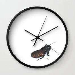 Madagascar Hissing Cockroach Wall Clock