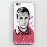 tyler spangler iPhone & iPod Skins featuring Tyler Joseph by Alycia Plank