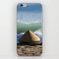 hats iPhone & iPod Skins featuring Hats & Mats by jarjake