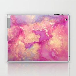 Alcohol Ink - Nebula 2 Laptop & iPad Skin