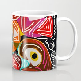 Life is beautiful street art graffiti Coffee Mug