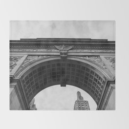 Washington Square Arch II Throw Blanket