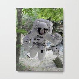 Explore Earth Metal Print