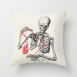 I need a heart to feel complete Throw Pillow