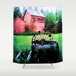 Memories of Home Shower Curtain
