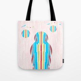 Symmetrical Circle Being: Innerlight Tote Bag
